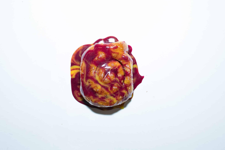 halle berry cinnamon roll