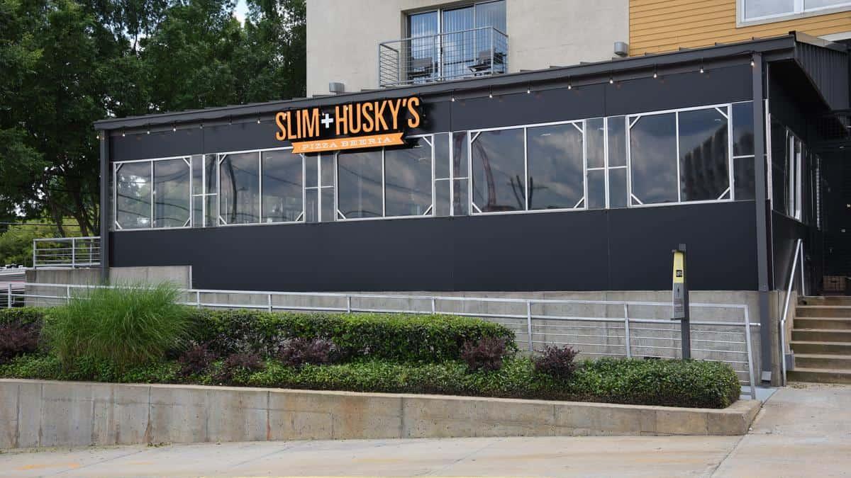 Storefront for Slim and Husky's in Atlanta, GA